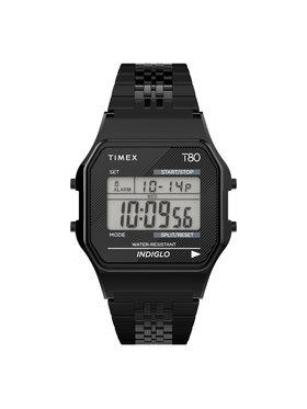 Timex Timex Ρολόι T80 TW2R79400 Μαύρο