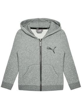 Puma Puma Sweatshirt Ka Full-Zip 583237 Grau Regular Fit