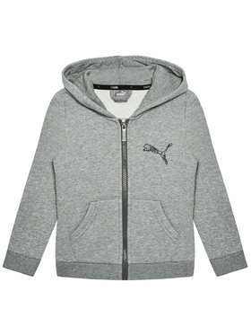 Puma Puma Sweatshirt Ka Full-Zip 583237 Gris Regular Fit
