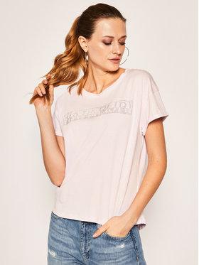 Napapijri Napapijri T-Shirt Siccari NP0A4E3WP Różowy Regular Fit