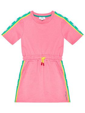 Little Marc Jacobs Little Marc Jacobs Sukienka codzienna W12360 D Różowy Regular Fit