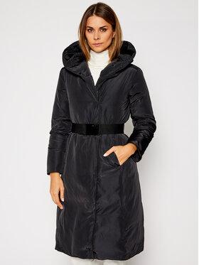 MAX&Co. MAX&Co. Παλτό χειμωνιάτικο Betty 64940520 Μαύρο Slim Fit