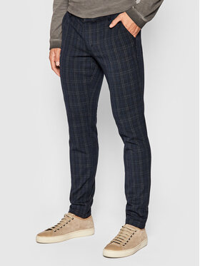 Only & Sons Only & Sons Chinosy Mark 22019891 Granatowy Tapered Fit