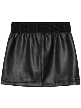 Guess Guess Sukňa J1RD00 WBG60 Čierna Regular Fit