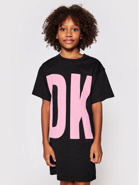 DKNY DKNY Kleid für den Alltag D32777 S Schwarz Regular Fit