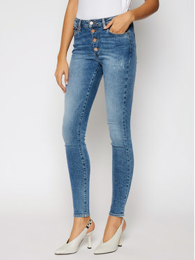 Tommy Jeans Tommy Jeans Skinny Fit Farmer Sylvia DW0DW08640 Kék Skinny Fit