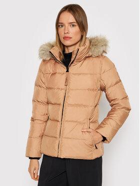 Calvin Klein Calvin Klein Kurtka puchowa Womenswear K20K203126 Beżowy Regular Fit