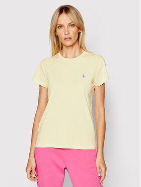 Polo Ralph Lauren Polo Ralph Lauren T-shirt Ssl 211734144044 Jaune Regular Fit