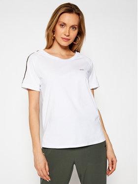 Liu Jo Sport Liu Jo Sport T-Shirt TA1146 J5003 Biały Regular Fit