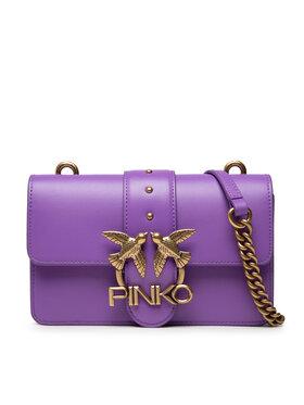 Pinko Pinko Дамска чанта Love Mini Icon Simply 11 Cl. 20212 PLTT 1P22AF Y6XT Виолетов