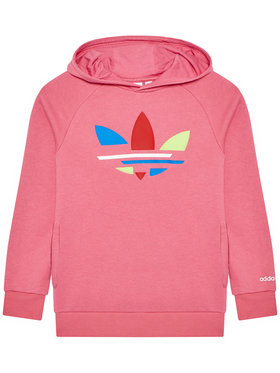 adidas adidas Bluza adicolor H32396 Różowy Regular Fit