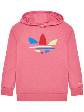 adidas adidas Суитшърт adicolor H32396 Розов Regular Fit