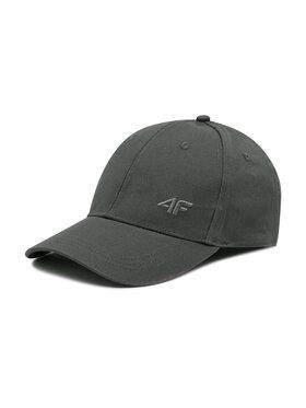 4F 4F Kšiltovka H4L21-CAM005 Šedá