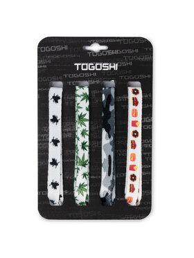 Togoshi Togoshi Set de lacets pour chaussures TG-LACES-120-4-MEN-007 Multicolore