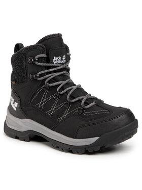 Jack Wolfskin Jack Wolfskin Trekingová obuv Aspen Texapore Mid M 4041411 Čierna