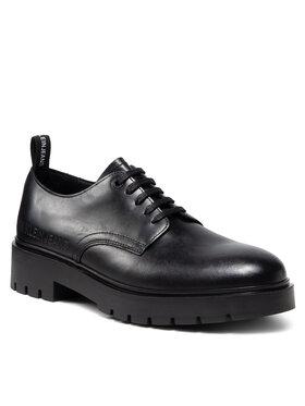 Calvin Klein Jeans Calvin Klein Jeans Polobotky Combat Laceup Derby Shoe YM0YM00302 Černá