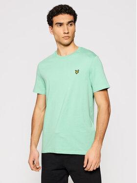 Lyle & Scott Lyle & Scott T-Shirt Plain TS400VOG Grün Regular Fit