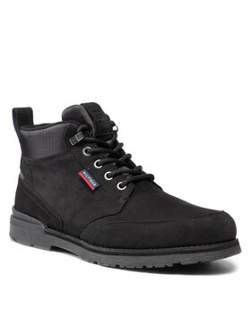 Tommy Hilfiger Tommy Hilfiger Trapery Outdoor Corporate Mix Boot FM0FM03776 Czarny