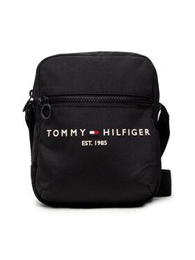 Tommy Hilfiger Tommy Hilfiger Saszetka Th Established Mini Reporter AM0AM08016 Czarny