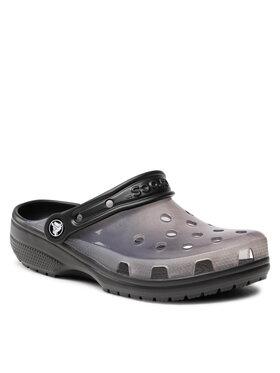 Crocs Crocs Шльопанці Classic Translucent Clog 206908 Чорний