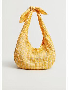Mango Mango Torebka Jane 87017114 Żółty