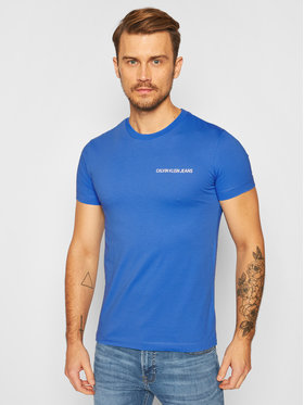 Calvin Klein Jeans Calvin Klein Jeans T-Shirt J30J315245 Blau Regular Fit