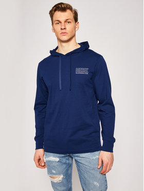 Diesel Diesel Sweatshirt Umlt-Jimmy 00SCW4 0QAZN Dunkelblau Regular Fit
