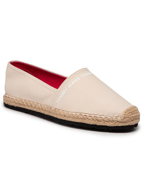 Tommy Jeans Tommy Jeans Espadrilles Essential Tommy Jeans Espadrille EN0EN01271 Bézs