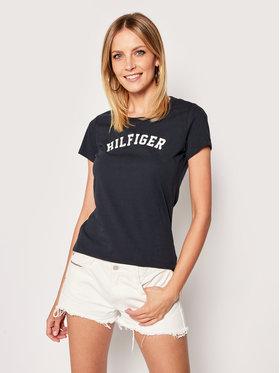 TOMMY HILFIGER TOMMY HILFIGER T-Shirt UW0UW00091 Dunkelblau Slim Fit