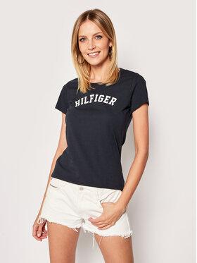 Tommy Hilfiger Tommy Hilfiger T-Shirt UW0UW00091 Σκούρο μπλε Slim Fit