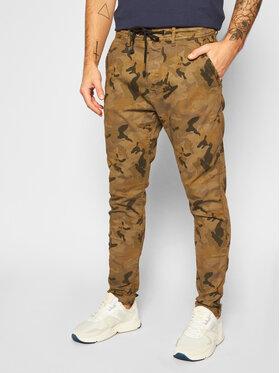 Pepe Jeans Pepe Jeans Joggers kalhoty GYMDIGO Johnson Knit PM211367 Zelená Relaxed Fit