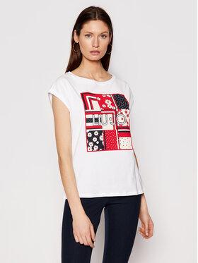 Liu Jo Liu Jo T-shirt WA1333 J5003 Blanc Regular Fit