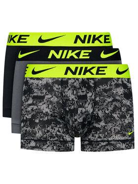 Nike Nike Σετ 3 ζευγάρια μποξεράκια Essential Micro KE1014 Έγχρωμο
