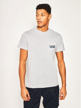 Vans Vans T-shirt Otw Classic Athletic VN0A2YQVKOO1 Grigio Slim Fit
