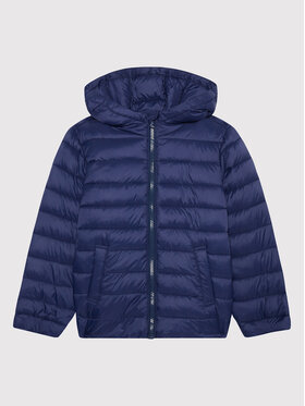 United Colors Of Benetton United Colors Of Benetton Kurtka puchowa 2BA253HJ0 D Granatowy Regular Fit