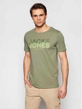 Jack&Jones Jack&Jones T-shirt Lexus-Spring 12192515 Verde Slim Fit