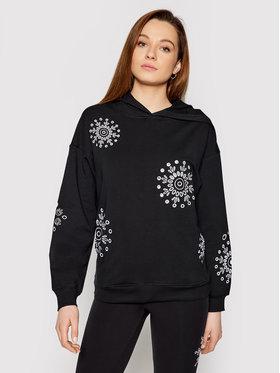 Desigual Desigual Sweatshirt No Zip Swiss Empoidery 21SOSK03 Noir Regular Fit