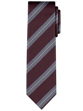 Vistula Vistula Krawat Packer XY0563 Bordowy