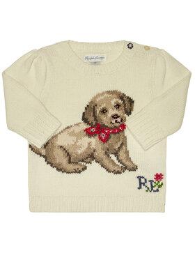 Polo Ralph Lauren Polo Ralph Lauren Megztinis Dog 310787279001 Balta Regular Fit