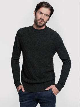 Vistula Vistula Sweter Douglas XA0659 Zielony Regular Fit
