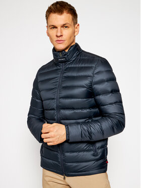Woolrich Woolrich Пухено яке Eco Bering FWOOU0334MR UT2497 Тъмносин Regular Fit