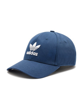 adidas adidas Шапка с козирка Trefoil Baseball Cap GN4888 Син