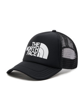 The North Face The North Face Шапка с козирка Tnf Logo Trucker NF0A3FM3KY41 Черен