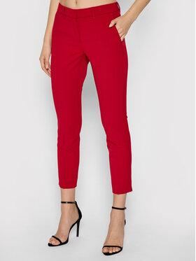 Marella Marella Chino kalhoty Violet 31360518 Červená Slim Fit