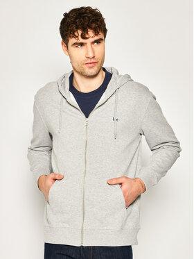 Lee Lee Sweatshirt Basic Zip Throuh Hoo L80KSPMP Grau Regular Fit