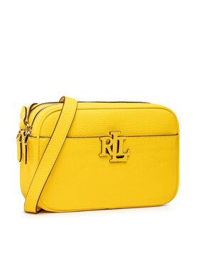 Lauren Ralph Lauren Lauren Ralph Lauren Handtasche Carrie 431837540007 Gelb