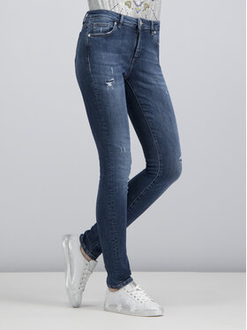 Trussardi Jeans Trussardi Jeans Džinsai Skinny Fit 56J00000 Tamsiai mėlyna Skinny Fit