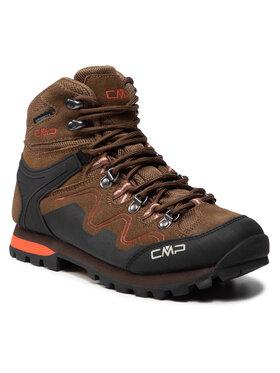 CMP CMP Трекінгові черевики Athunis Mid Wmn Trekking Shoe Wp 31Q4976 Коричневий