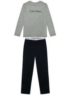 Calvin Klein Underwear Calvin Klein Underwear Πιτζάμα Ls Knit Set B70B700052 D Γκρι Regular Fit