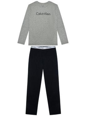 Calvin Klein Underwear Calvin Klein Underwear Piżama Ls Knit Set B70B700052 D Szary Regular Fit